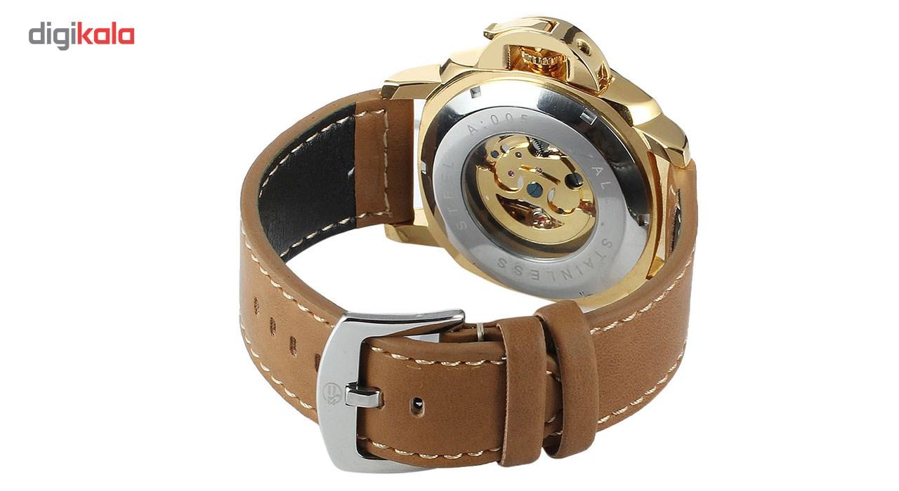 ساعت مچی عقربهای مردانه فورسنینگ مدل FSG8132M3G1