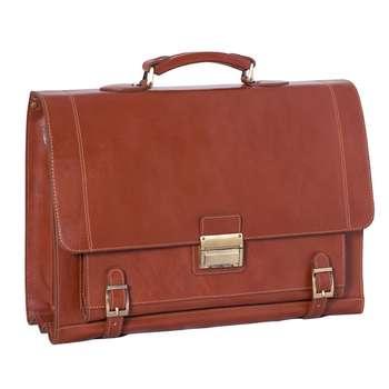 کیف اداری چرم طبیعی آدین چرم مدل DL8.1