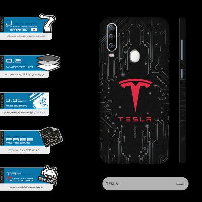برچسب پوششی ماهوت مدل TESLA-Motors-FullSkin  مناسب برای گوشی موبایل جی ال ایکس Shahin 2