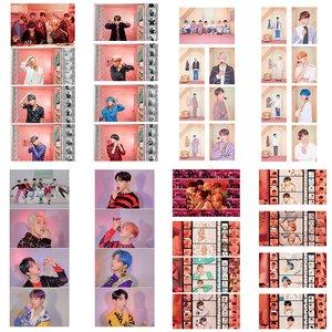 آویز تزیینی آبنبات رنگی طرح عکس های آلبوم BTS Persona کد PAK001 مجموعه 32 عددی