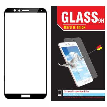 محافظ صفحه نمایش شیشه ای مدل Hard and thick  full cover مناسب برای گوشی موبایل هوآوی Honor 7X