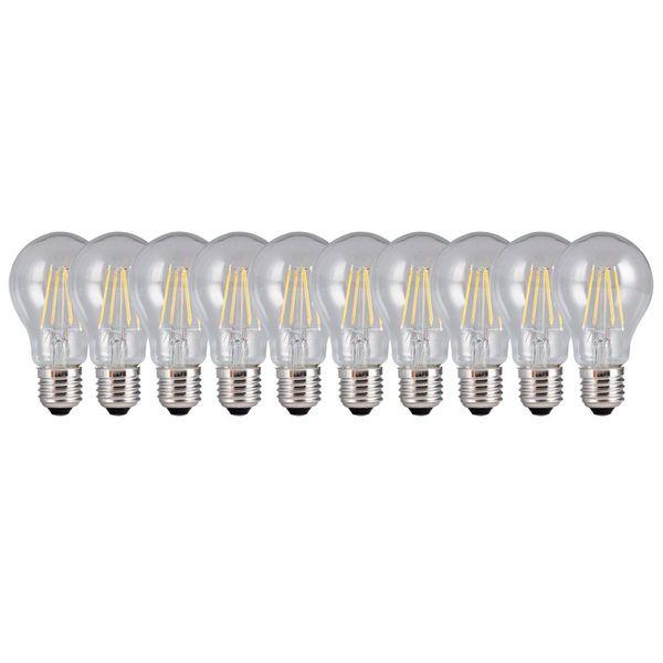 لامپ ال ای دی 6 وات تکنوتل مدل 206 پایه E27 بسته 10 عددی