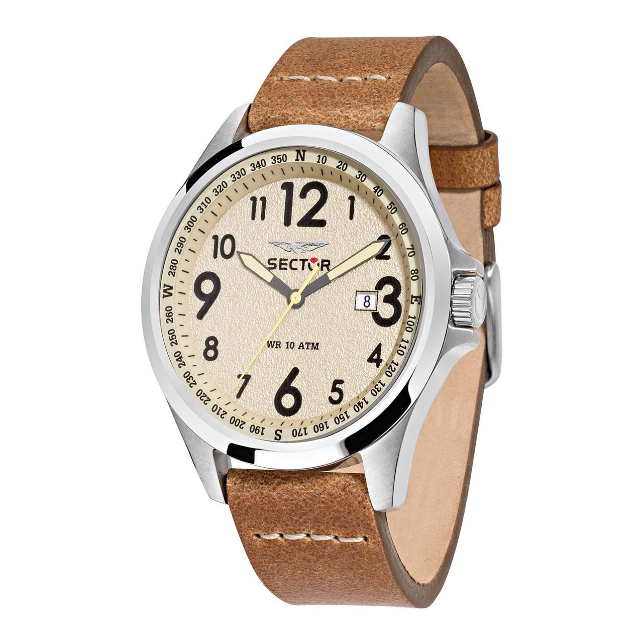 ساعت مچی عقربه ای مردانه  سکتور مدل 180-3251180012