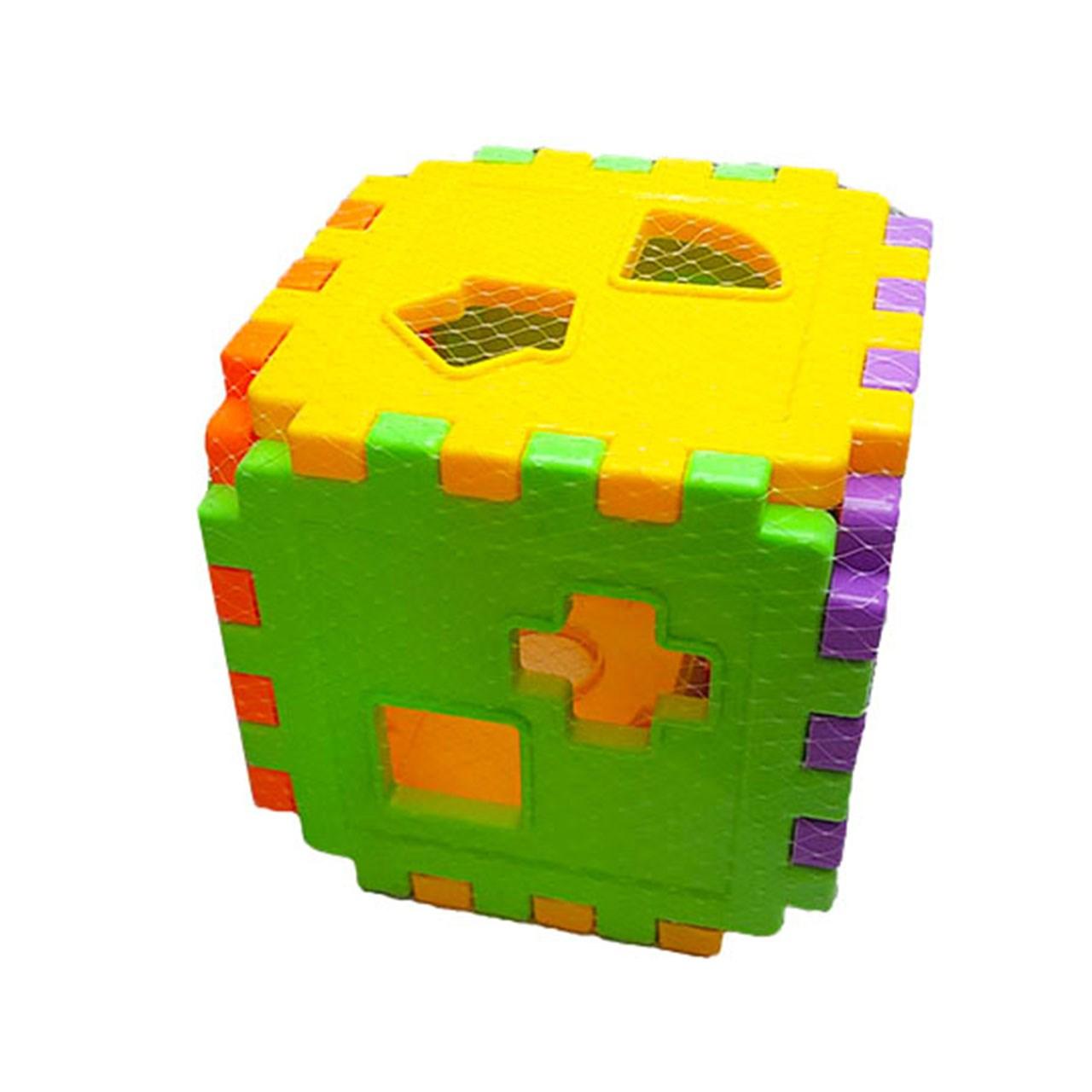 خرید                     بازی آموزشی مدل مکعب اشکال