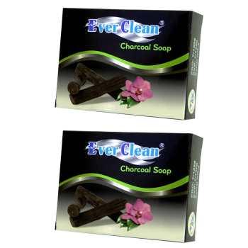 صابون زغالی اورکلین مدل  Charcoal مجموعه 2 عددی حجم 70 گرم