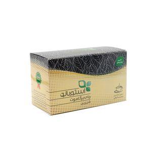چای سیاه کیسه ای استویانو مدل برگاموت بسته 20 عددی