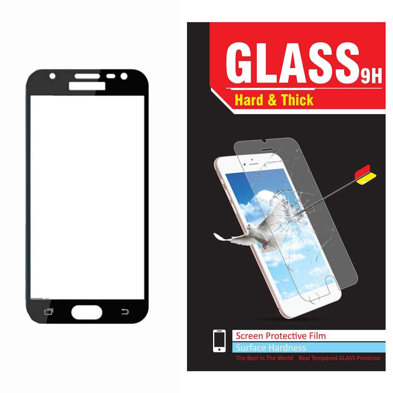 محافظ صفحه نمایش شیشه ای مدل Hard and thick  فول چسب مناسب برای گوشی موبایل سامسونگ Grand Prime Pro/J2 Prime