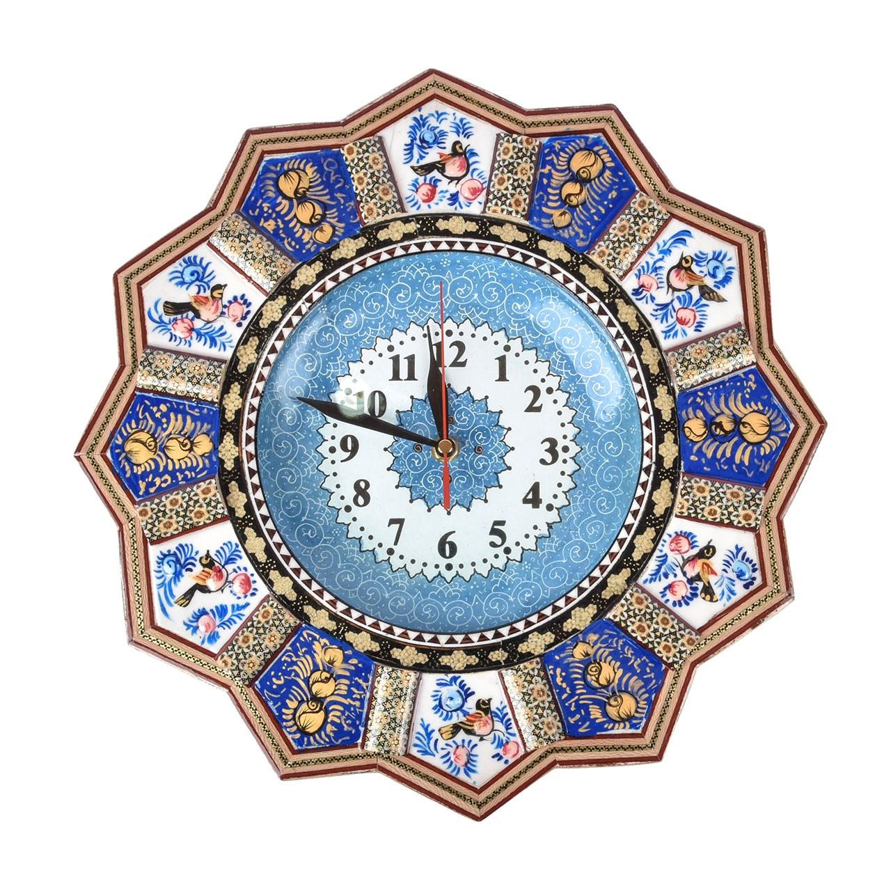 ساعت  خورشیدی  خاتم کاری یوسف  مدل Sa02