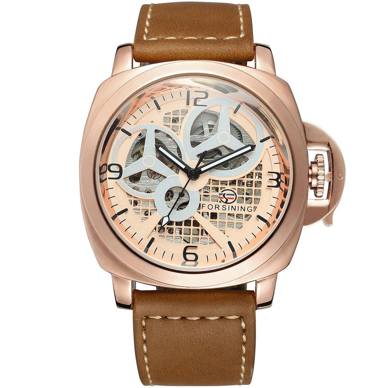 ساعت مچی عقربهای مردانه فورسنینگ مدل FSG8132M3R1 56