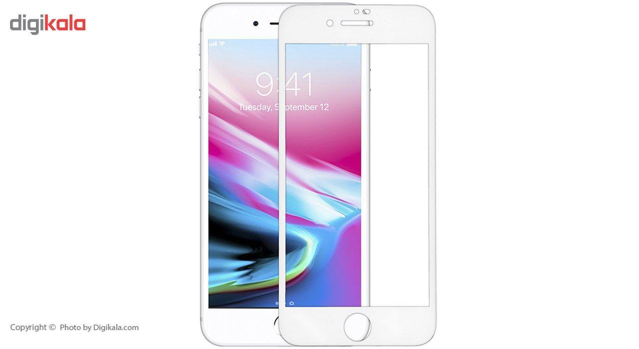 محافظ صفحه نمایش شیشه ای مدل 5D Plus Protect مناسب برای گوشی اپل iPhone 8 main 1 2