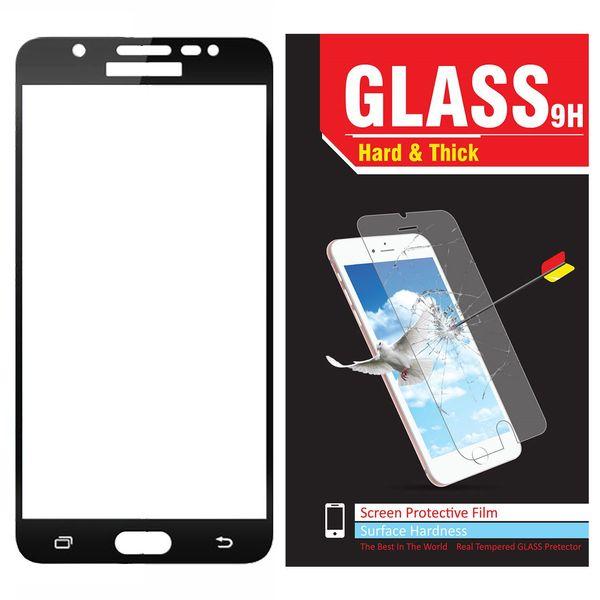 محافظ صفحه نمایش شیشه ای مدل Hard and thick  full cover مناسب برای گوشی موبایل سامسونگ J510/J5 2016