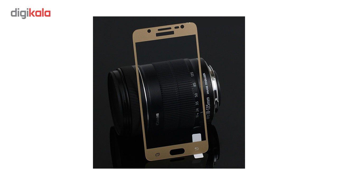 محافظ صفحه نمایش شیشه ای مدل Hard and thick  full cover مناسب برای گوشی موبایل سامسونگ J510/J5 2016 main 1 1