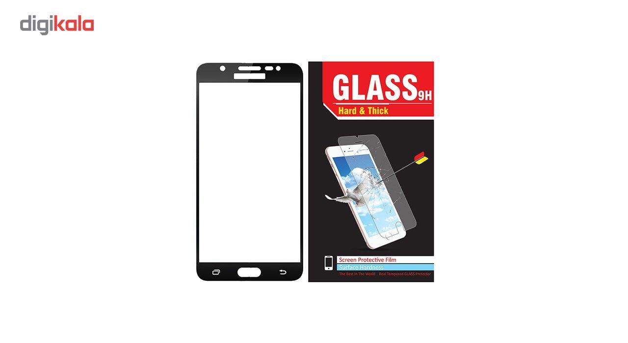 محافظ صفحه نمایش شیشه ای مدل Hard and thick  full cover مناسب برای گوشی موبایل سامسونگ J510/J5 2016 main 1 2
