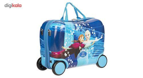 چمدان کودک مدل Frozen