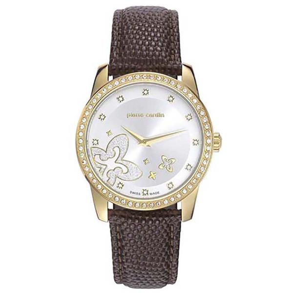 ساعت مچی عقربه ای زنانه پیر کاردین مدل PC107712S01