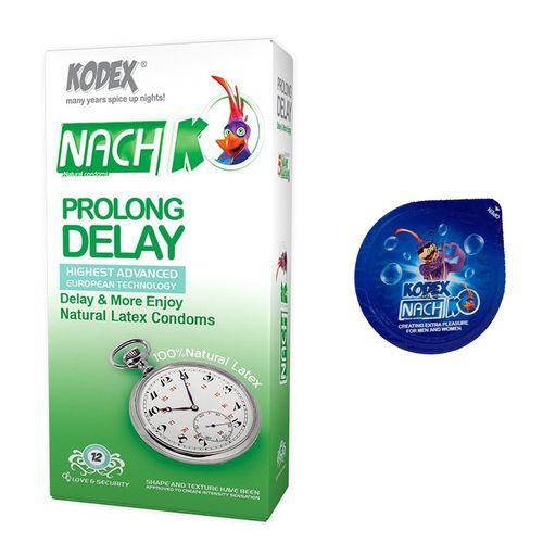کاندوم تاخیری مدل بلیسر کدکس به همراه یک بسته کدکس مدل Prolong Delay بسته 12 عددی