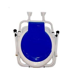 توالت فرنگی آسانا مدل تاشو دیواری با قیف