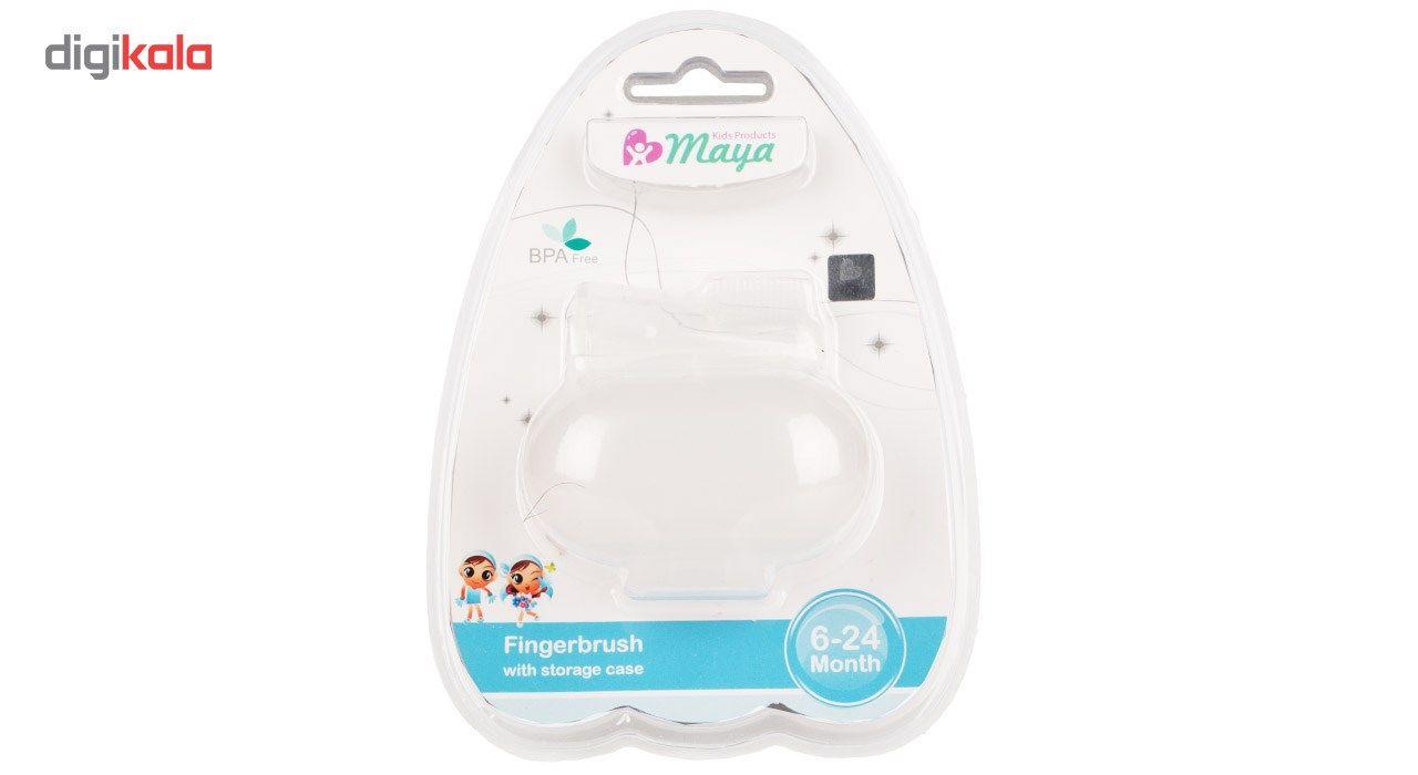 مسواک انگشتی نوزاد مایا مدل 001 main 1 2