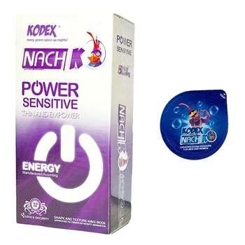 کاندوم محرک مدل بلیسر کدکس به همراه یک بسته کدکس مدل POWER SENSITIVE بسته 12 عددی