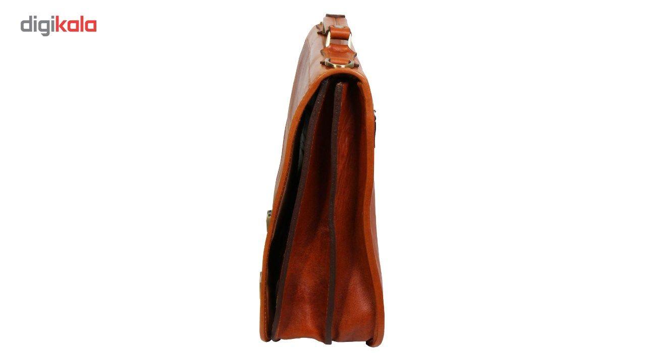 کیف اداری مردانه چرم ناب کد K109 main 1 3