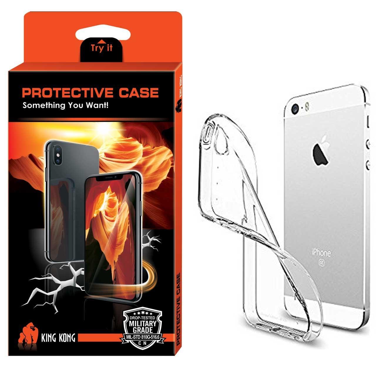 کاور کینگ کونگ مدل Protective TPU  مناسب برای گوشی اپل آیفون 5/5S/SE