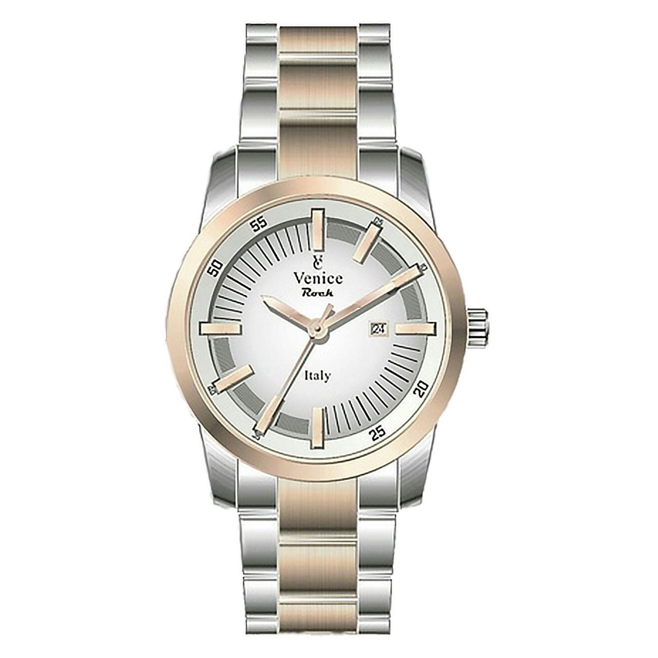ساعت مچی عقربه ای مردانه ونیز مدل SV4008 21