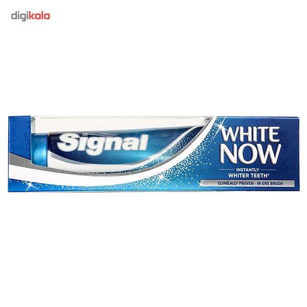 خمیر دندان سیگنال مدل White Now تیوب 75 میلی لیتر main 1 2