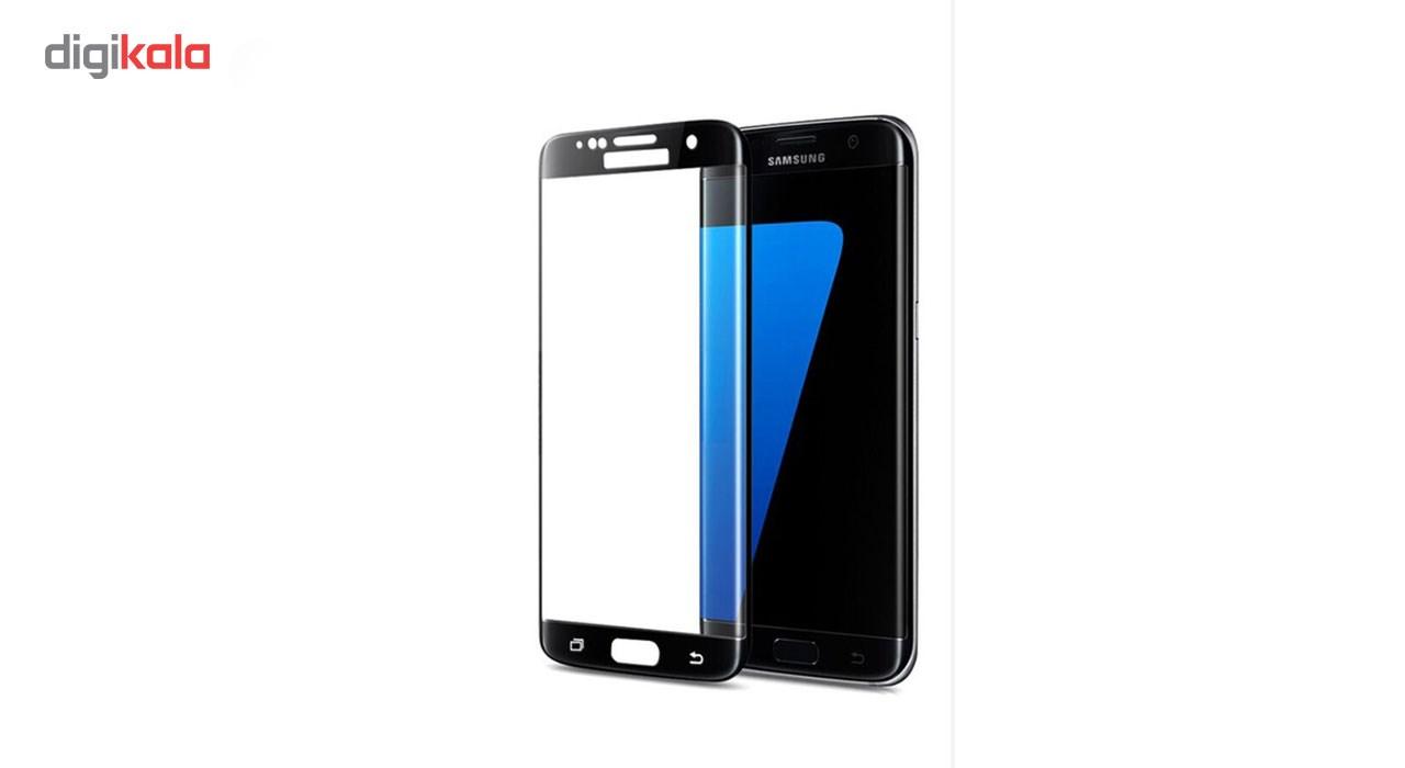 محافظ صفحه نمایش شیشه ای مدل Hard and thick full cover مناسب برای گوشی موبایل سامسونگ S7 Edge main 1 2