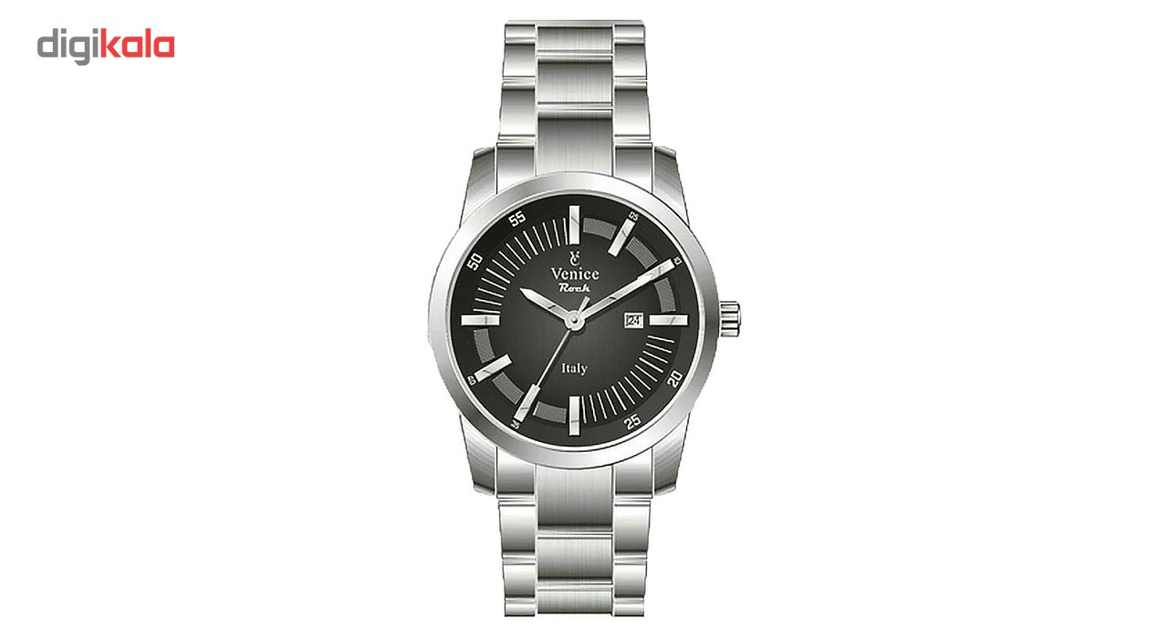 ساعت مچی عقربه ای مردانه ونیز مدل SV4008 12