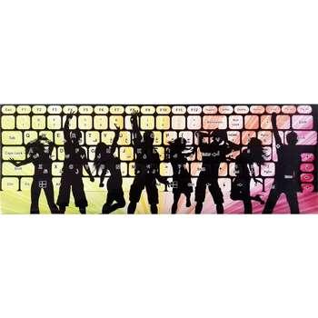 برچسب حروف فارسی کیبورد طرح DANCE