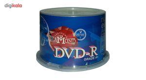 دی وی دی خام دیاموند پک 50 عددی  Diamond DVD Pack of 50