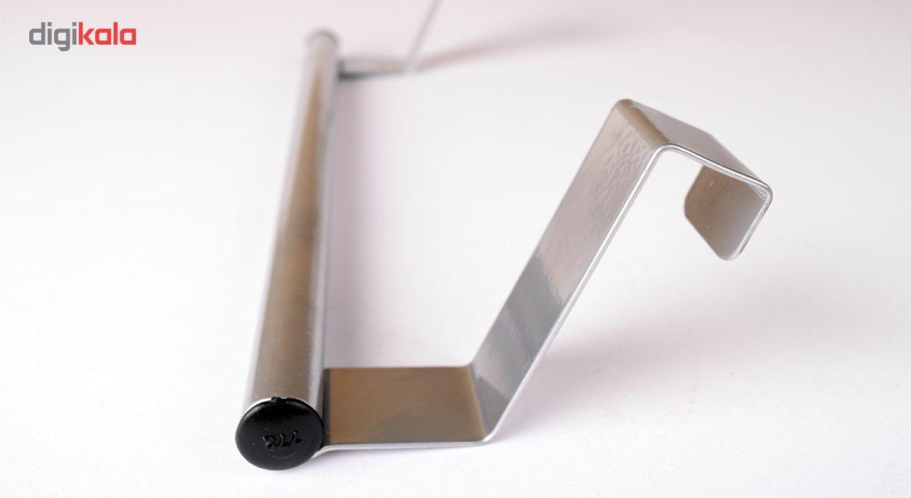آویز حوله دیارا مدل steel main 1 2