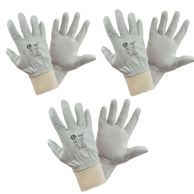 دستکش ایمنی مدل آرگون کد E654 مجموعه 3 عددی
