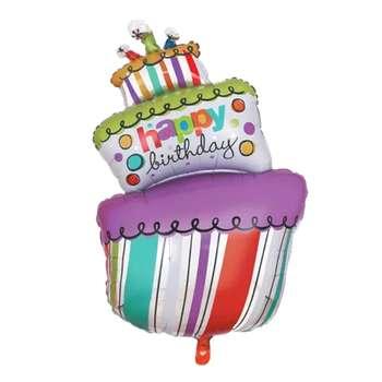 بادکنک بانیبو مدل Happy Birthday Cake