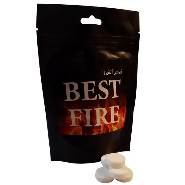 قرص جامد الکل مدل Best Fire بسته 40 عددی