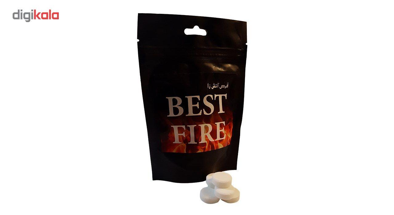 قرص جامد الکل مدل Best Fire بسته 40 عددی main 1 2