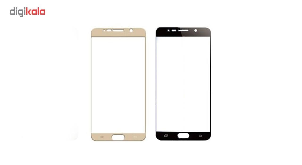 محافظ صفحه نمایش شیشه ای مدل Hard and thick  full cover مناسب برای گوشی موبایل سامسونگ Note5 main 1 1