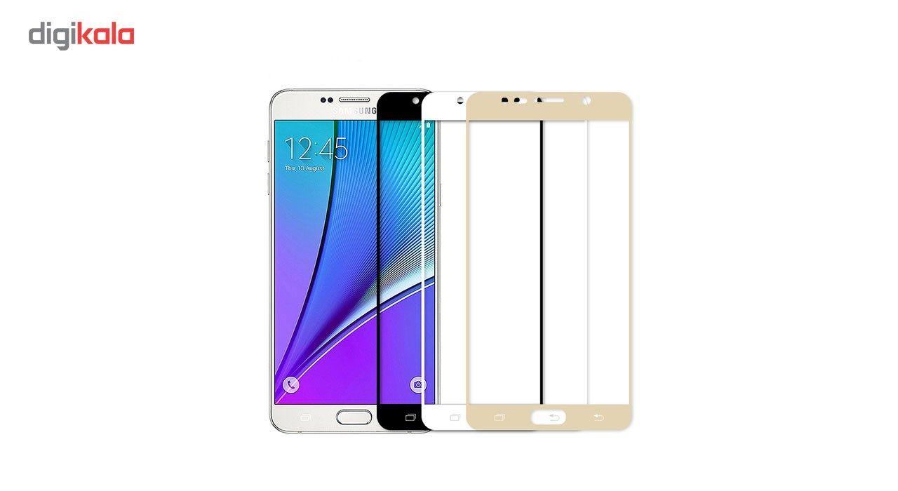 محافظ صفحه نمایش شیشه ای مدل Hard and thick  full cover مناسب برای گوشی موبایل سامسونگ Note5 main 1 2
