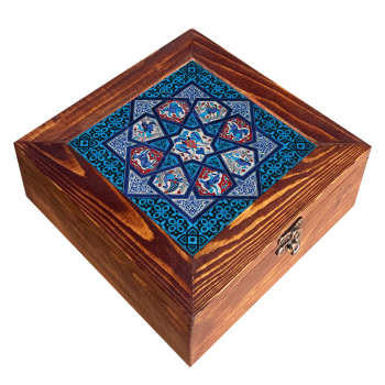 جعبه هدیه چوبی مدل   CG38