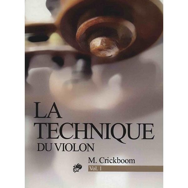 کتاب تکنیک ویولن - کتاب اول - اثر ماتیو کریک بوم