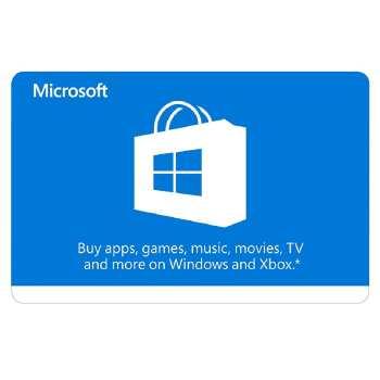 گیفت کارت 10 دلاری مایکروسافت مدل MS10