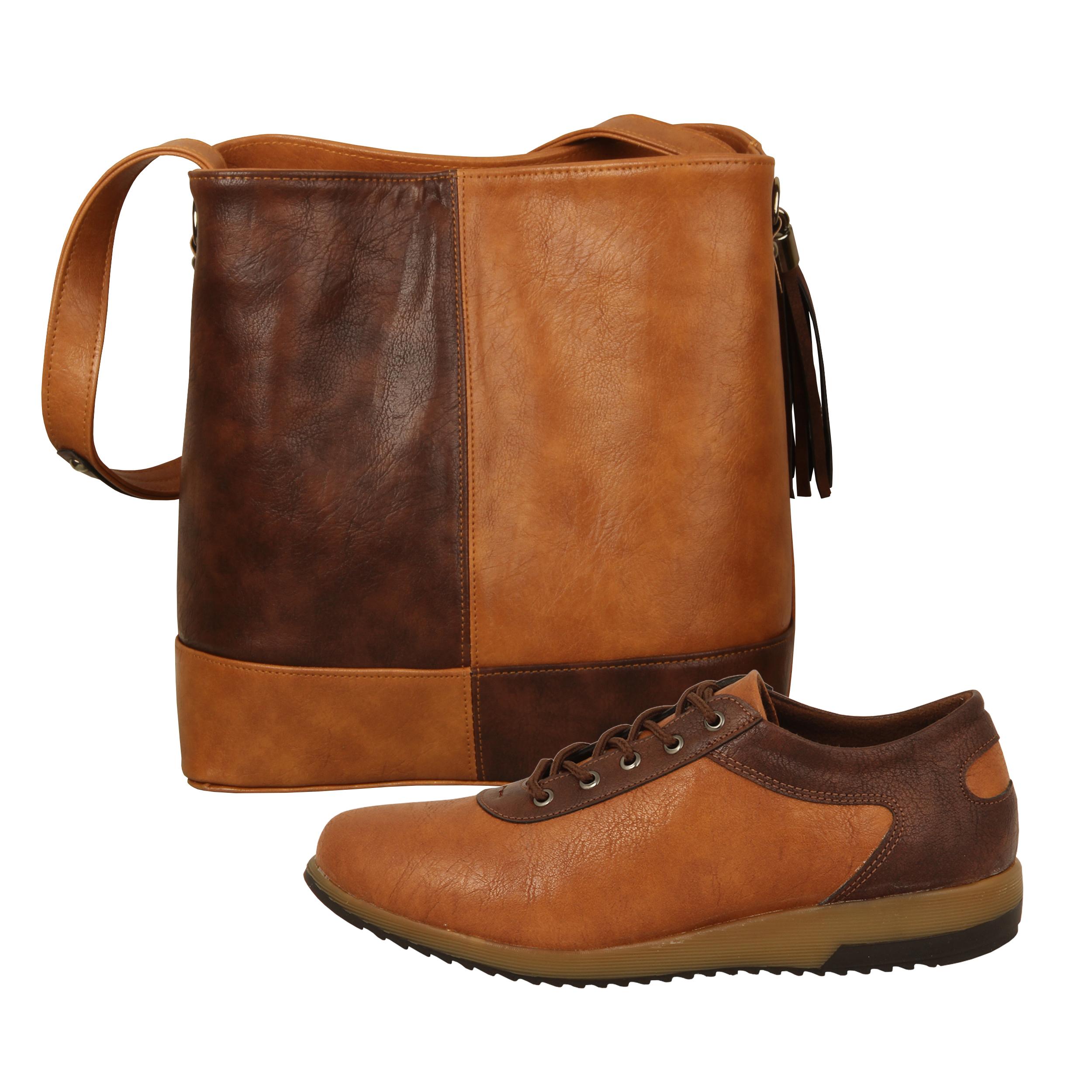 ست کیف و کفش زنانه باب مدل ثمین کد 928-1