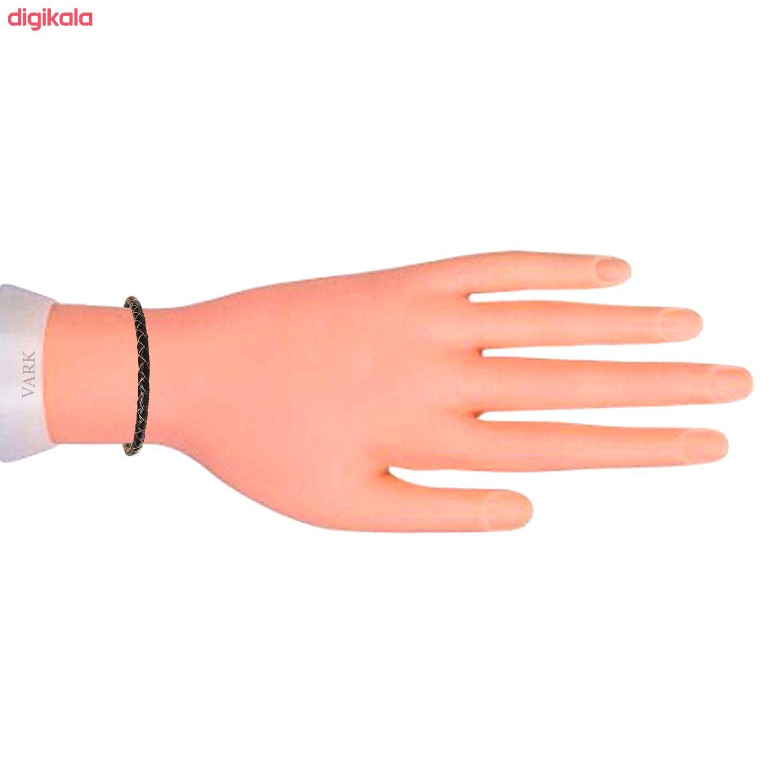 دستبند چرم وارک مدل رادین کد rb267  main 1 5