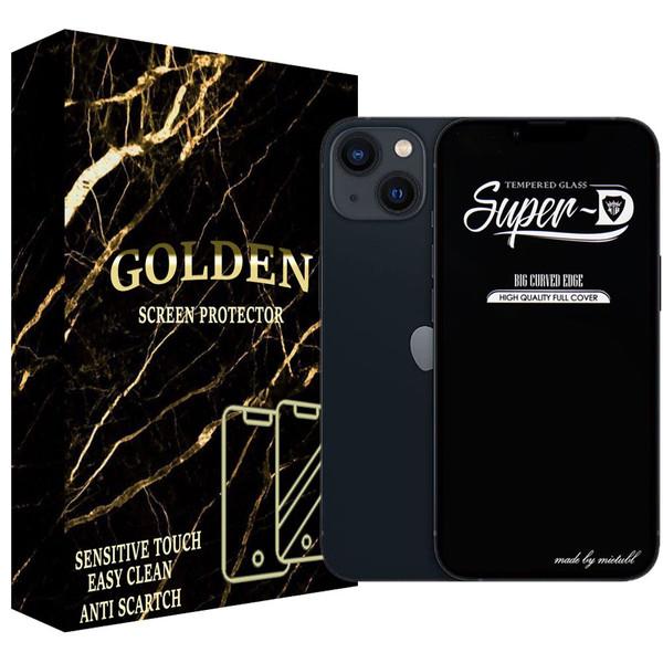 محافظ صفحه نمایش گلدن مدل SPD-G01 مناسب برای گوشی موبایل اپل IPhone 13