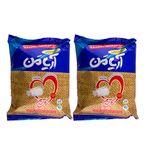 نمک خوراکی ید دار 100% تصفیه شده و تبلور مجدد آریامن - 800 گرم مجموعه 2 عددی