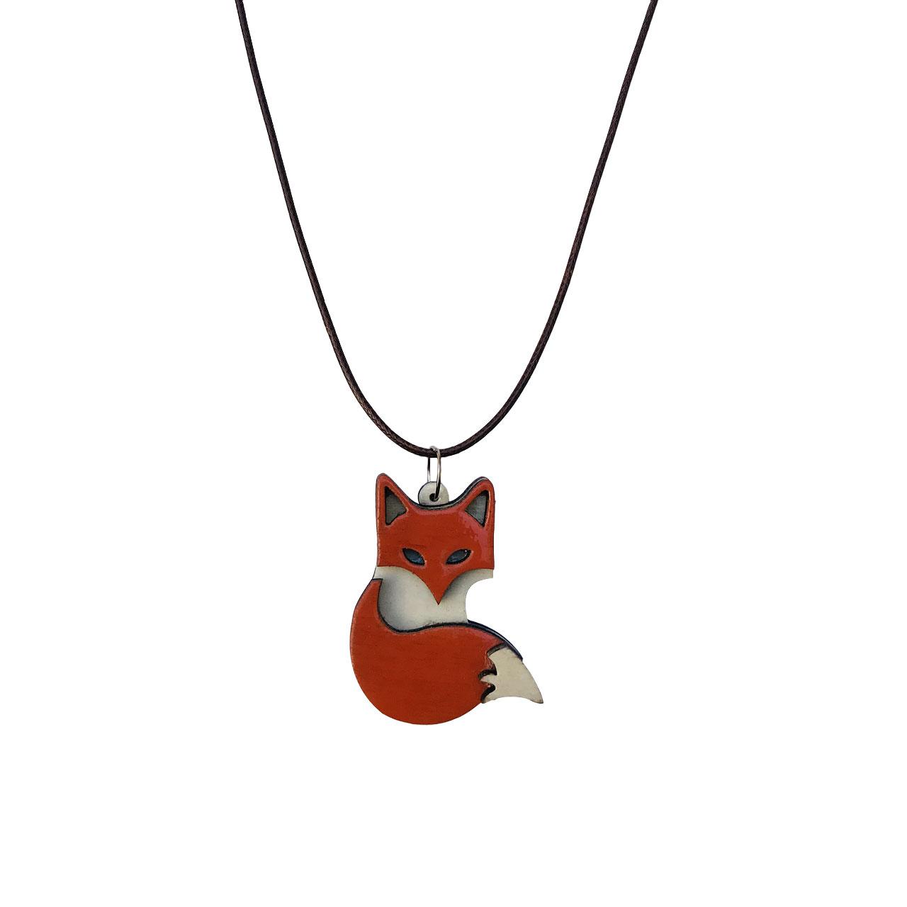 گردنبند طرح روباه کد 012 main 1 1