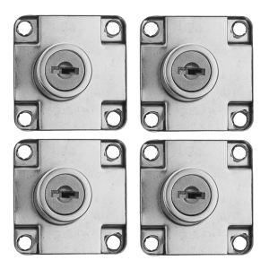قفل درب کمد ویلکا مدل vk-138 بسته 4 عددی