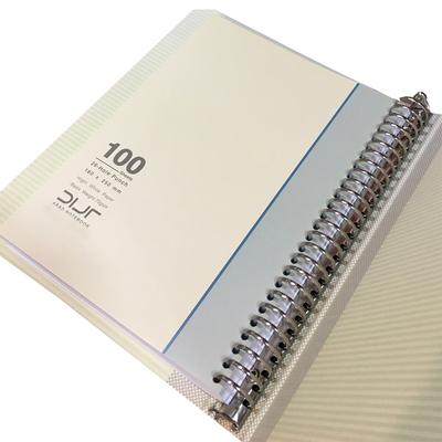 دفتر کلاسوری 100 برگ آراد کد 104579