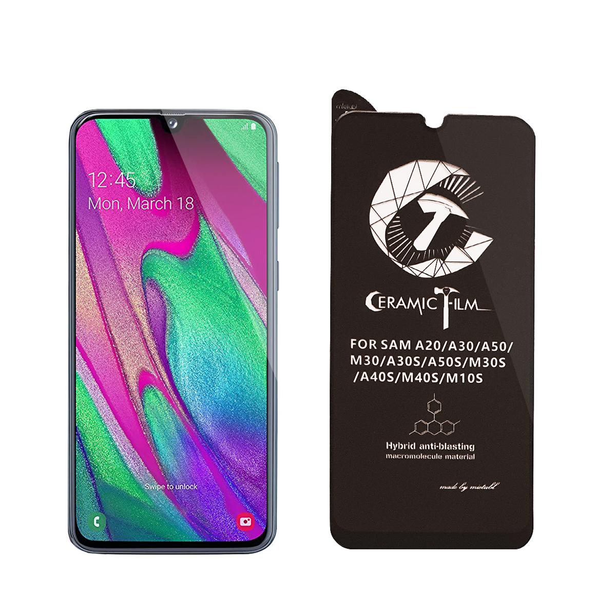 محافظ صفحه نمایش سرامیکی میتوبل مدل FLCEG01me مناسب برای گوشی موبایل سامسونگ Galaxy A40s