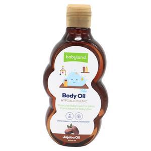 روغن نرم کننده بدن کودک بیبی لند مدل jojoba oil حجم 200 میلی لیتر